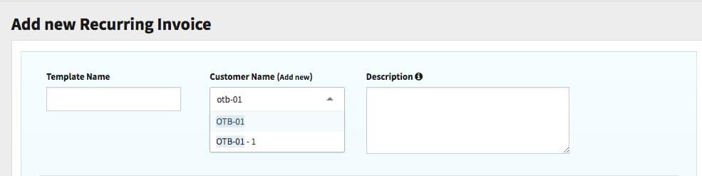 Recur Tutorials Recur - Customer invoice template
